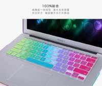Wholesale 2016 retail Silicone Keyboard Protector Skin Cover For Macbook Pro Air Mac Retina Keyboard Covers quot