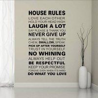 audrey hepburn wall decor - House rule audrey hepburn DIY Wall Sticker Vinyl Art Home Decor Mural Fashion bedroom decoration