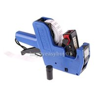Wholesale New Arrival Pricing Machine Price Label Tag Marker Pricing Gun Price Labeller For Supermarket Store J BHU2
