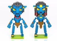 avatar sully - Loz Avatar Pandora Na vi Jake Sully Neytiri Diamond Building Blocks Action Figure DIY Toy Children Educational Model Figure