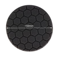 Wholesale 10Pc Black Inch mm Hex Logic Buffing Polishing Pad kit For Car Polisher