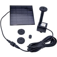 Wholesale Solar Water Pump Power Panel Kit Fountain Pool Garden Pond Submersible Black