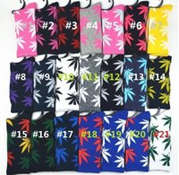 Wholesale MOQ pairs Hot Crew Socks leaf Skateboard hip hop socks Leaf Maple Leaves Stockings Cotton Unisex Plantlife Socks