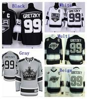 angeles c - Cheap LA Wayne Gretzky Jersey Los Angeles Kings Stadium Series Home Black Road White Vintage Stitched Hockey Jerseys C patch mens sports