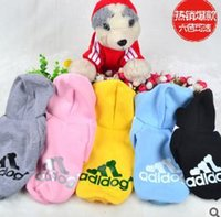 dog coats - 2015 Cotton Pet Clothes Puppy Dog Coat Cool Clothes Hoodie Sweater T shirt Costumes Winter Clothing for Pet