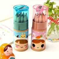 Wholesale Cute girls constellation small pencil drawing pen color pen color pencil coloring