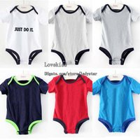Summer newborn baby clothing - Baby One Piece Romper Children Clothes Kids Romper Infant Wear Kid Boy Girl Jumpsuit Rompers One Piece Clothing Newborn Romper Baby Rompers