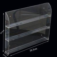 acrylic display shelves - At least BOTTLES ACRYLIC Nail Polish Display Rack SHELVE WALL MOUNTED Acrylic Rack Gel Polish Display Organizer