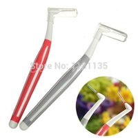 Wholesale 6pcs Interdental Brush mm Red Toothbrush Floss High Strength Brush Long Handle