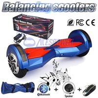balance red - 2 Wheels Self Balance Electric Scooters Inch Electric Skateboard Hands Free Hover Board Adult Roller Smart Balance Wheel