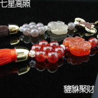 Wholesale Chinese tranditional Mascot PiXiu car classic pendant car decoration auto prodcuts gifts safeness rich lucky