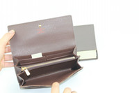 Wholesale Hot Sell Classic Fashion Style Hasp purses Wallet Women Wallets come with new box