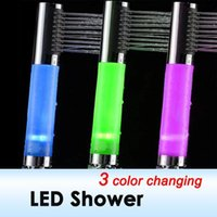 Wholesale Color Changing LED Sprinkler Automatic Sensor Control Shower Head HL0293 dropshipping
