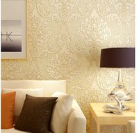 Wholesale High grade European wallpaper D non woven wallpaper bedroom living room TV background wall