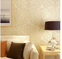 Wholesale High grade European wallpaper D non woven wallpaper bedroom living room TV background wall