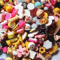 cabochons - Mixed Designs styles mm Resin Candy Sweet Food Kawaii Cabochons Jewelry Mobile Phone DIY Accessories