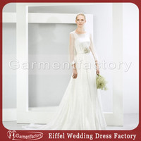 Cheap Long Sleeves Best Long Sleeves Wedding Dresses