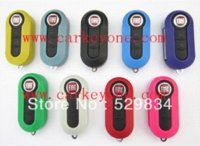 best car security system - 1 pc Best price Fiat button flip remote key shell car key blank M37042 Alarm Systems amp Security
