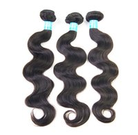 Wholesale 8 Pc g unit Virgin Body Wave Peruvian Human Hair weft Unprocessed Human Hair Extension A Hair Weave Natural Color