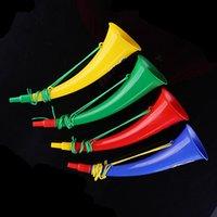 angle games - Lin Fang g angled plastic toy horn speaker horn speaker refueling cheer props Games