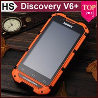 Wholesale Discovery V6 V6 Waterproof Smart Phone quot IPS Android Dual Core MTK6572 Dual SIM G ROM WIFI Outdoor Rugged G G WCDMA Cellphone