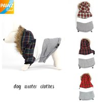 Wholesale Pet Dog Winter Clothes Warm Clothing for Dog Hoodie Apparel Size Fashion Design Coat Jacket Luxury Fur