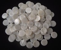 Wholesale trumpet finger buttons pearl set real pearl seashell