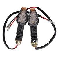 Wholesale 2pcs LED Amber Motorcycle Turn Signal Indicator Light Blinker Flasher Relay