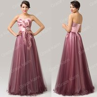 grace karin - Grace Karin Long Strapless Quinceanera Bridal Bridesmaid Formal Ballgown Evening Party Dress Size US CL6163