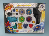 Flashing beyblade cartoons - One set Hot sales Vforce D Beyblades Arena Toys Gifts Horoscope Alloy Cartoon Anime KIDS BIRTHDAY GIRTS Metal Fight Beyblade DS