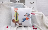 kids plastic chair - 2016 Zootopia Styles Animal Kids Cotton Home Textile Cushion mm mm Cartoon Sofa Throw Pillow Cover Chair Car Pillow TOY140
