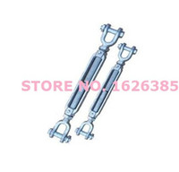 Wholesale 7 X18 T drop forging US type Galvanized jaw to jaw closed turnbuckle Closed Body Jaw Turnbuckle for Tighten Rope