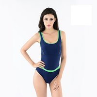athletic swimsuits - 2016 New Arrivals Female Athletic Sexy Triangle swimsuit Womens One Piece Swimwear High quality Fabric Beach wear swimming suit