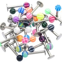 bells jewellery - g UV Ball Labret Lip Monroe Rings Chin Tragus Bars Body Jewelry Piercing Jewellery Labret Piercing Rings