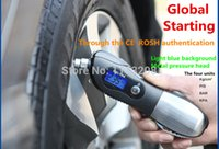Wholesale Car tire pressure gauge safety hammer tire pressure table car tyre pressure gauge tire pressure monitor high precision digital