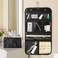 Bag space cosmetics - 10PCS Waterproof Toiletry Travel Bag Makeup Cosmetic Organizer Folding Hanging Kit closure Usefull space saving portable and nice design