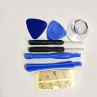 Wholesale 8 in1 mobile phone repair tools lever open dial the slice of sucker for mobile phone repair tools Hand tools
