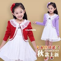 bean coat - Spring xayakids Rui beans children s new style spring and autumn girls set long sleeved jacket two sets of children s dress