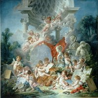 Wholesale World famous painting large custom wallpaper murals wallpaper wallpaper angel painting Continental Europe