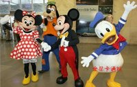 goofy costume - Goofy dog and Donald Duck and Mickey Minne Mouse cartoon costume Mickey Mouse Mascot Costume Cartoon Character Costumes Mickey Clothing