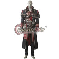 adult patrick costumes - Custom Made Adult and kids Men s Assassin s Creed Rogue Shay Patrick Cormac Costume Carnival Halloween Cosplay Costume D0513