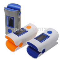 Wholesale CE FDA Finger Pulse Oximeter Oxymeter Blood Oxygen PR SPO2 Monitor OLED Digital Display Home Health Care
