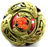 Wholesale 480pcs Rapidity D Beyblade Metal Fusion With launcher L DRAGO GOLD DF105LRF