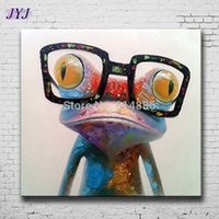 artist canvas frames - Dr Frog Painting Direct From Artist Hand painted Modern Abstract Oil Painting On Canvas Wall Art Decor No Framed CT006