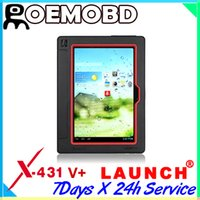 Wholesale 2015 New Arrival Launch X431 V X431 Pro Full System Auto Scanner Free online update X V Plus Scan Tool with Diag As Gift