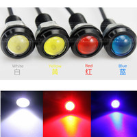 Wholesale Holesale X W LED DRL Eagle Eye Light Car Fog Daytime Reverse Parking Signal Lamp