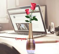 app plastics - 2015 Creative Colorful new private mold speaker vase APP smart home control lighting luxury gift mini wireless Bluetooth Speaker