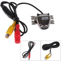 night view lens - E363 High Quality Night Vision Vehicle Auto Car Rear view Reverse Camera Rearview Camera for Security Parking Degree Lens