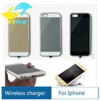 iphone 5 charger case - 2016 New Qi Wireless Charger Receiver case for Iphone Wireless Charger receiver Case for Apple iPhone5s back Cover