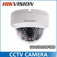 indoor mini dome ip camera - 2015 New Hikvision Multi language DS CD3132F IWS replace DS CD2132F ISW MP Mini Dome Camera P POE IP CCTV Camera Multi language